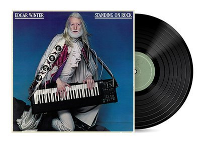 Standing on Rock by Edgar Winter [Vinyl LP] SOLD OUT