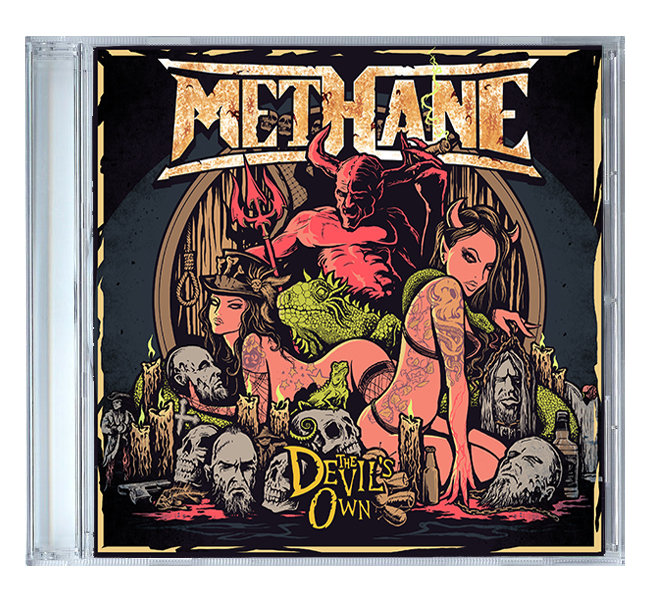 The Devils Own by Methane [CD]