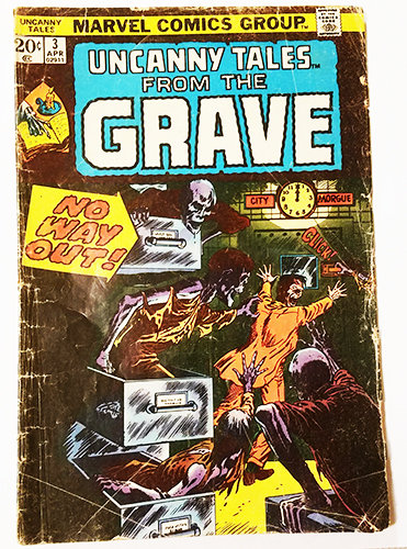Uncanny Tales From the Grave SOLD OUT