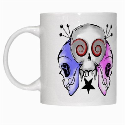 Sugar Skull Girls White Mug