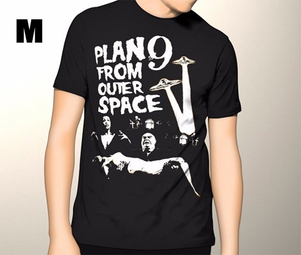 Plan 9 From Outer Space T-shirt Medium SOLD OUT