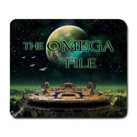 The Omega File Large Mousepad