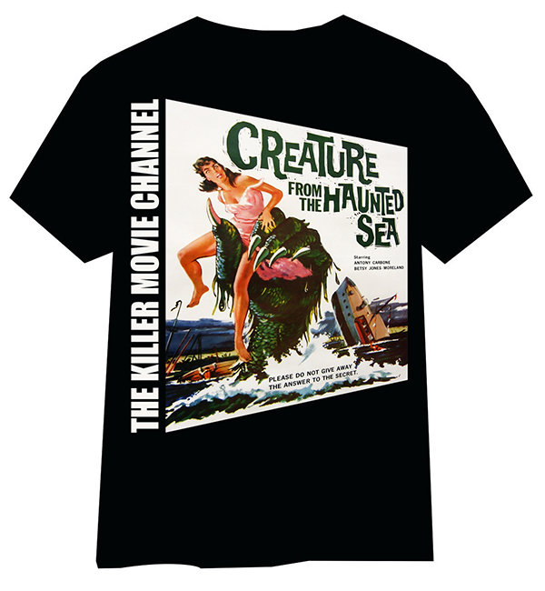 Creature From The Haunted Sea T-Shirt