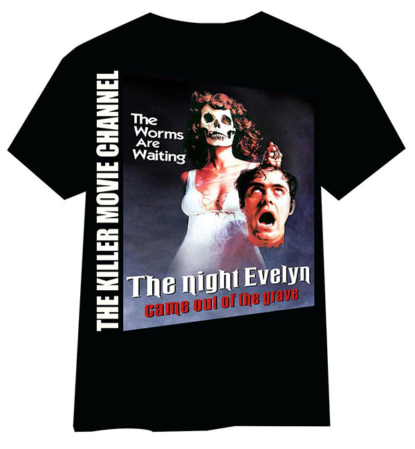 The Night Evelyn Came Out of the Grave T-Shirt