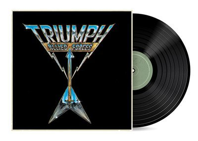 Allied Forces by Triumph [Vinyl LP] SOLD OUT