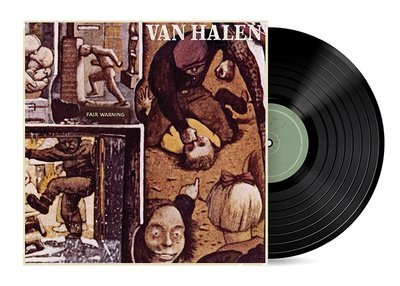 Fair Warning by Van Halen [Vinyl LP] SOLD OUT