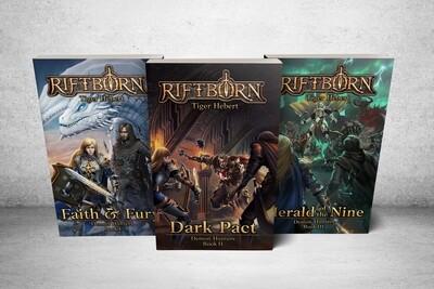Demon Hunters Book Bundle (Signed)