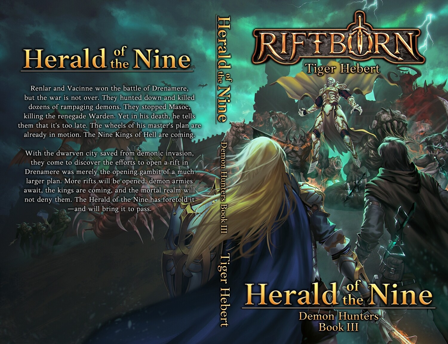 Herald of the Nine (Signed)