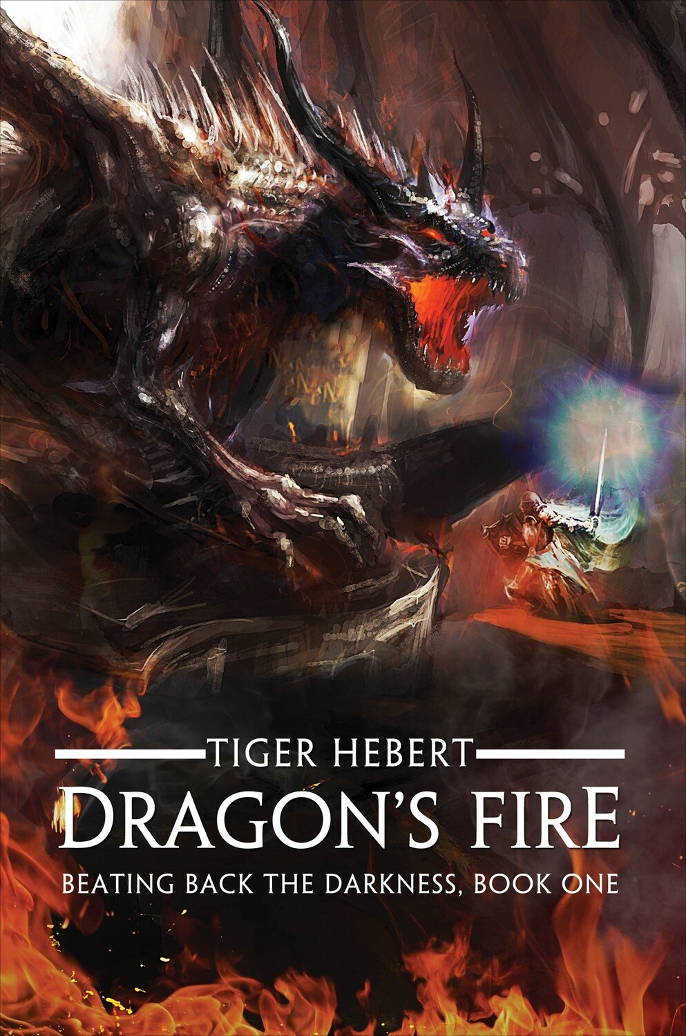 First Edition Dragon's Fire (Signed)