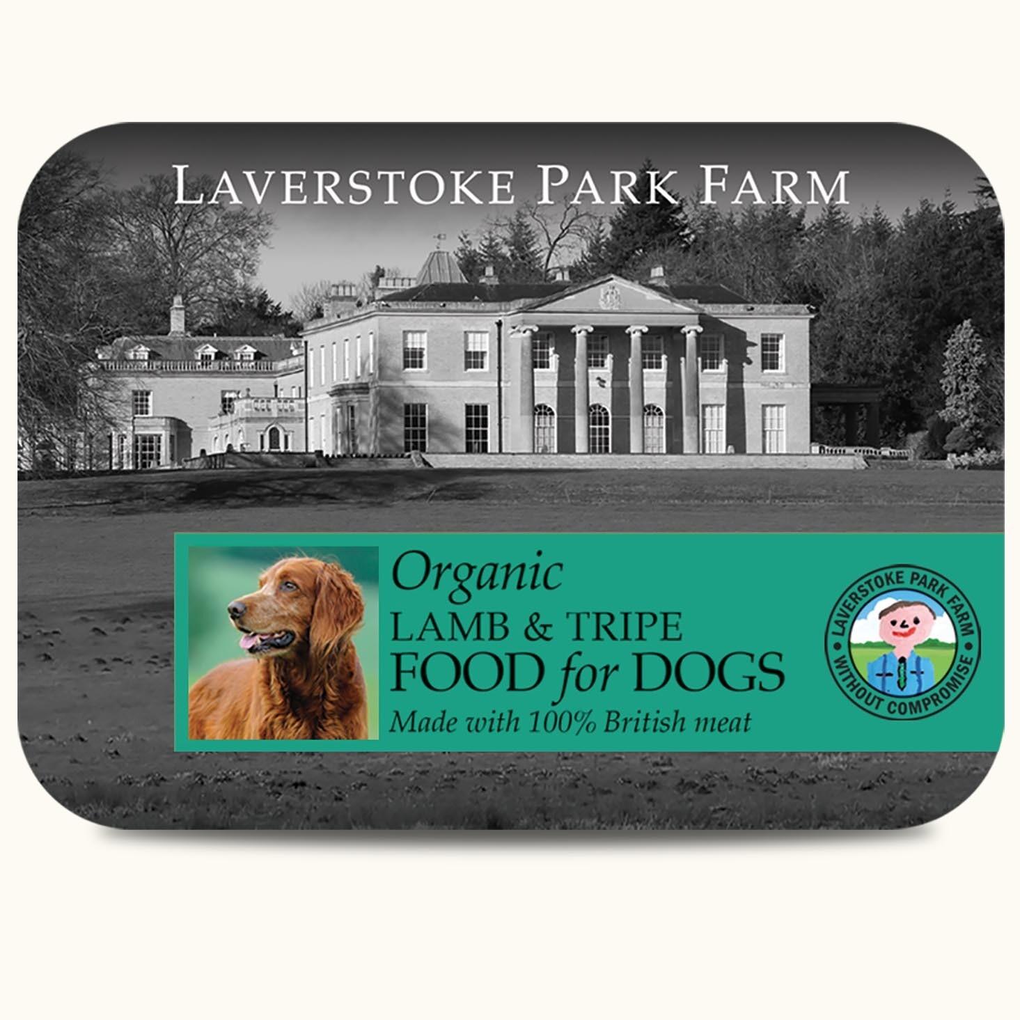 Laverstoke Organic Lamb and Tripe - 500g