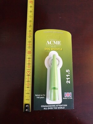 Acme 211.5 Whistle - Lime Green