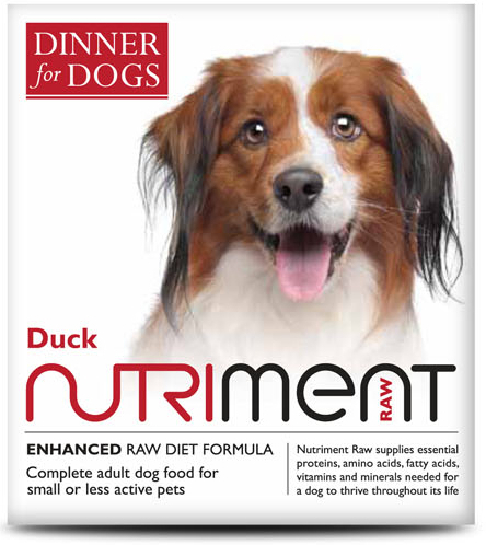 Dinner for Dogs - Duck Dinner - 200g Tray