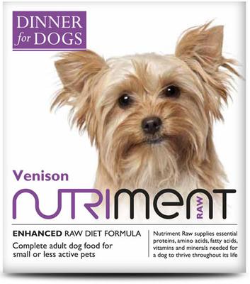Dinner for Dogs - Venison Dinner - 200g Tray