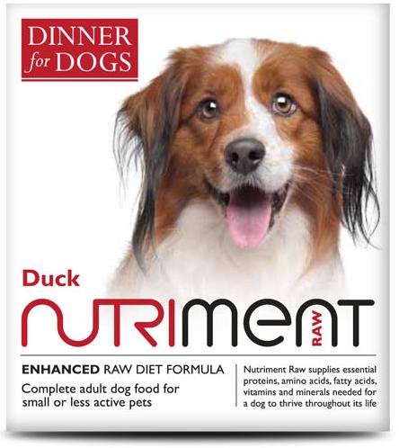 Dinner for Dogs - Duck Dinner - 200g Tray