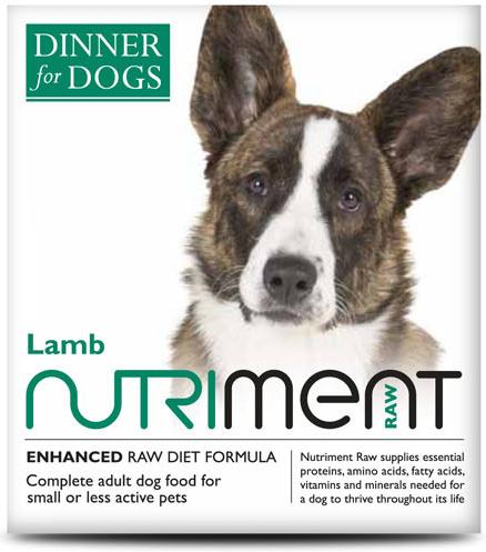 Dinner for Dogs - Lamb Dinner - 200g Tray