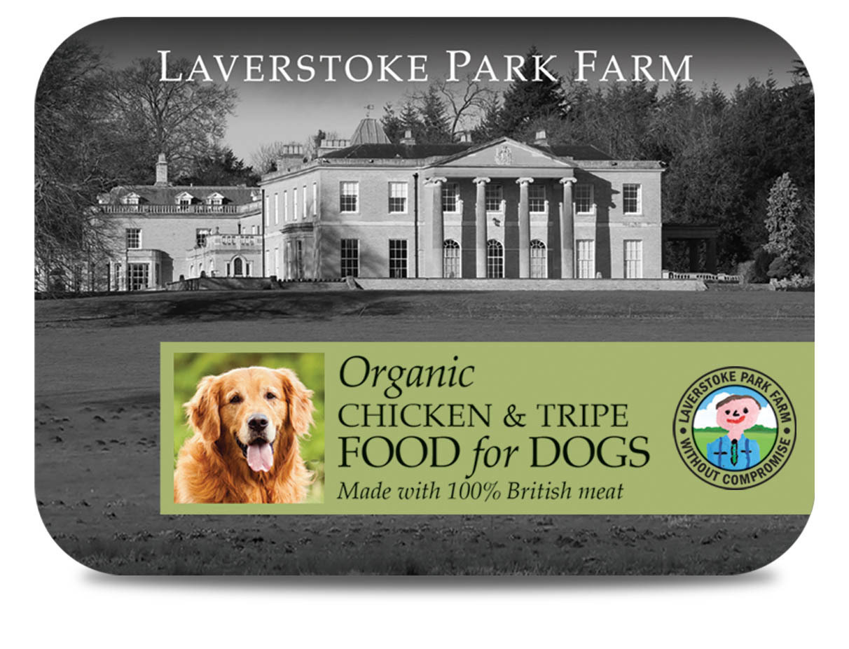 Laverstoke Organic Chicken and Tripe - 500g Tub