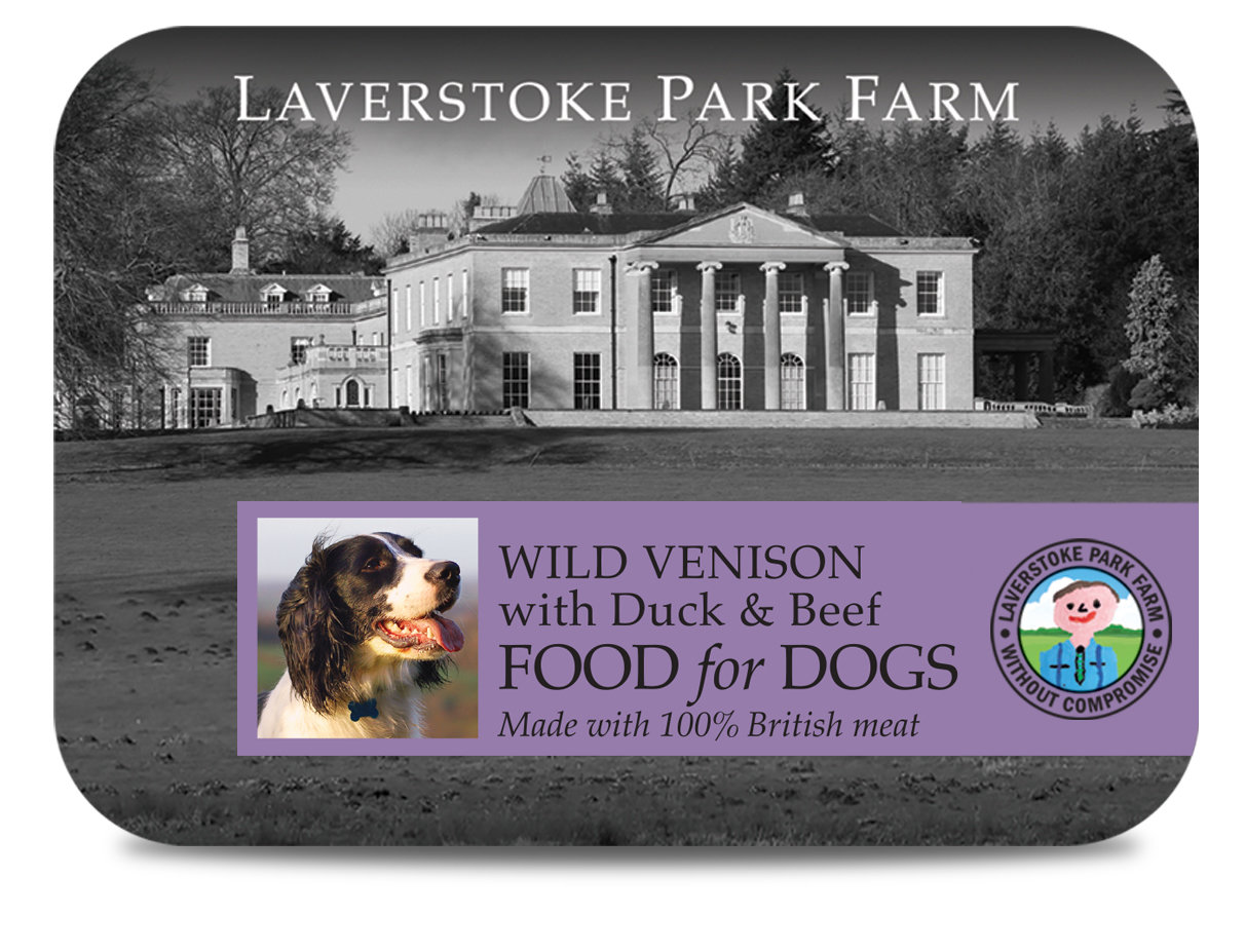 Laverstoke Wild Venison with Duck and Beef - 500g Tub