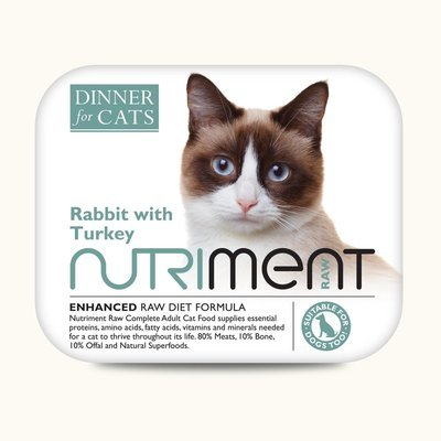 Dinner for Cats - Rabbit with Turkey