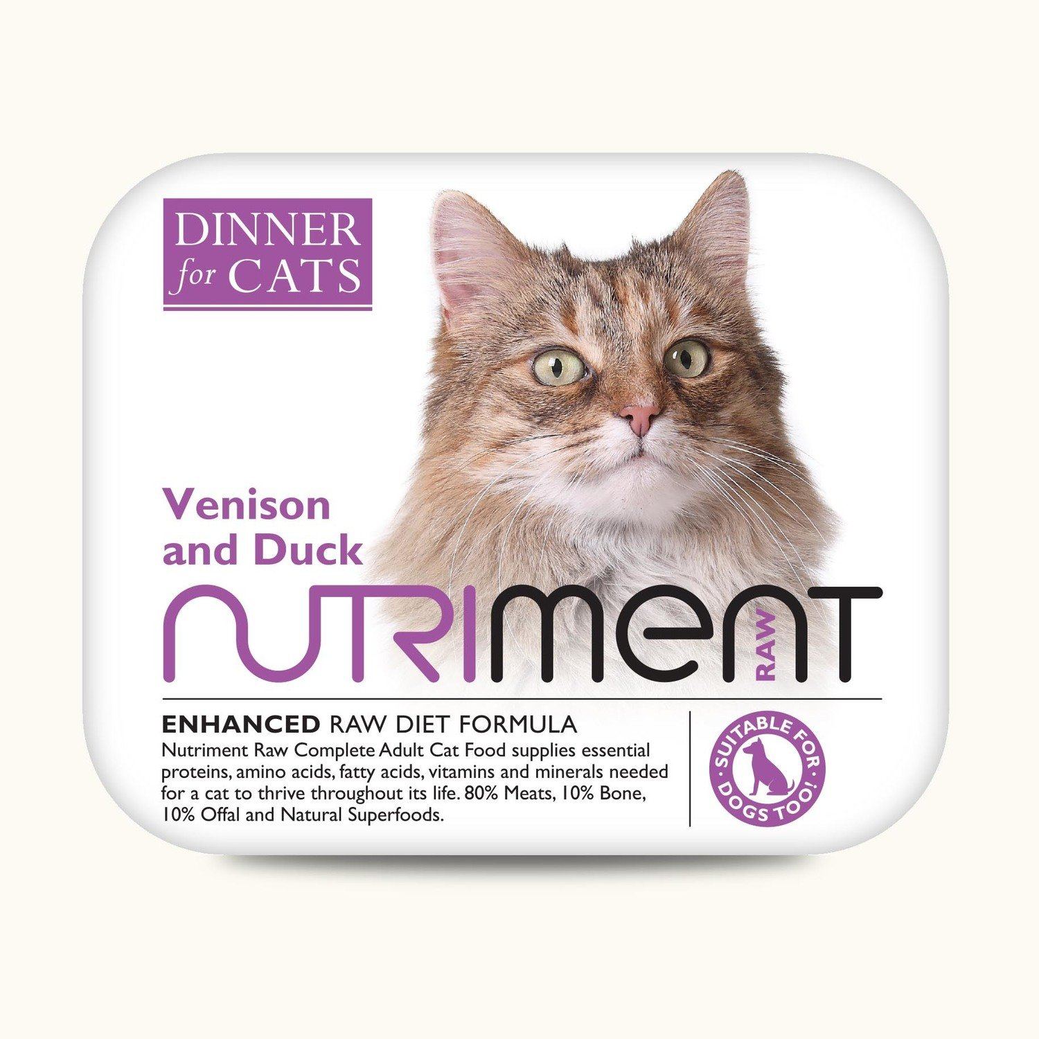 Dinner for Cats - Venison and Duck