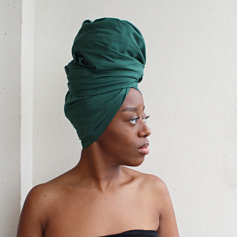 Turban RIMÈD Vert Headwrap
