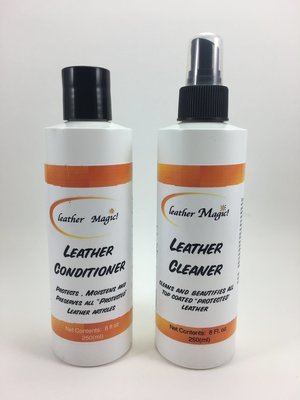 Leather Cleaner and Conditioner Combo