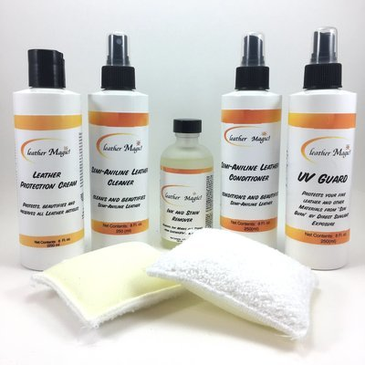 Total Semi-Aniline Leather Care Kit