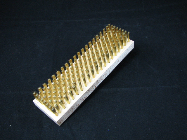 Large Brass Brush