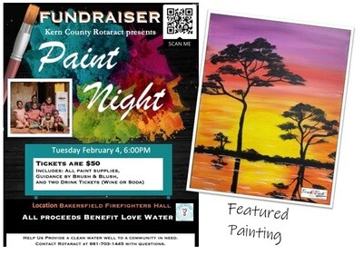 FUNDRAISER EVENT - February 4 - 6:00 pm (Online Registration Closed.  Walk-ins Welcome)