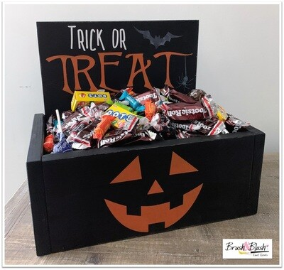 PICKUP/DELIVERY: Saturday, October 17th - 12-2pm Halloween Create Box Project 5 - Treat Box!