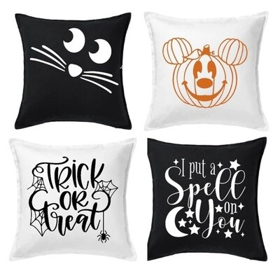 PICKUP/DELIVERY: Saturday, October 17th - 12-2pm Halloween Create Box Project 3 - Pillow!