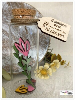 """IN-STUDIO EVENT: Kids Create Project -  Mother's Day """"Wood Flower Jar"""" EVENT DATE & TIME: Saturday, May 8th at 11:00 am"""