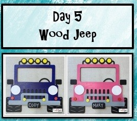 Youth Create Camp Day 5 - Wood Jeep Friday, July 30th