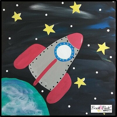 8/7 - Rocket Kids Paint Event EVENT LOCATION: Dickey's Barbecue Pit EVENT DATE & TIME: Saturday, August 7th at 12pm