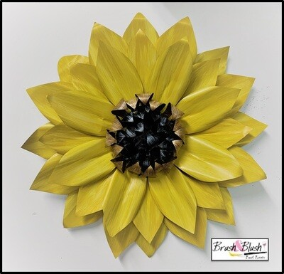IN-STUDIO EVENT - Sunflower Metal Flower   EVENT DATE & TIME: Saturday, August 28th - 2:00 pm