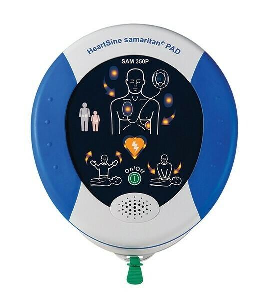 HeartSine® Samaritan® PAD 350P AED