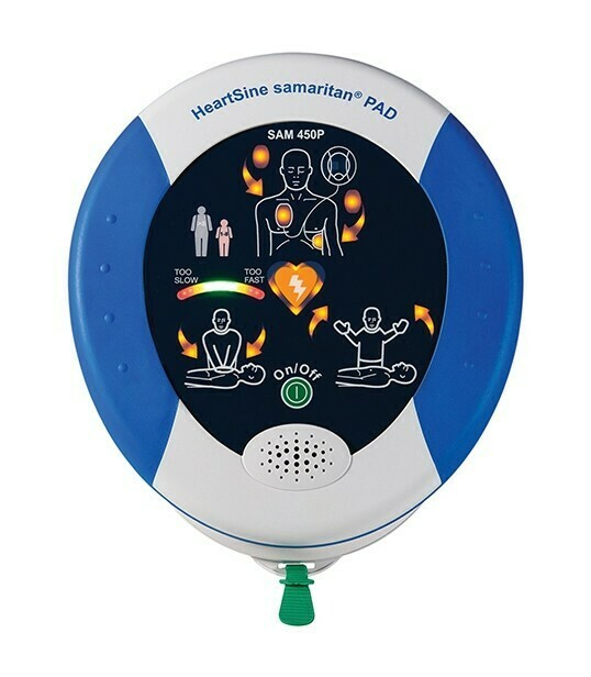 HeartSine® Samaritan® PAD 450P AED with CPR Feedback!