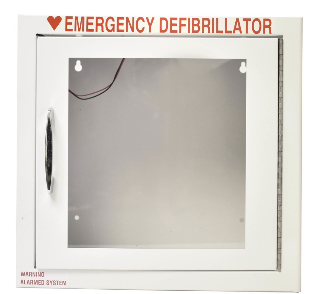 Large AED Standard Wall Cabinet With Alarm