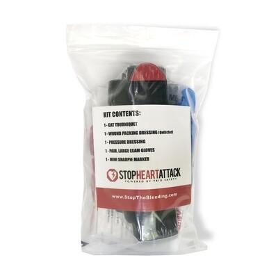 Premium Bleed Control Kit WITH QuikClot