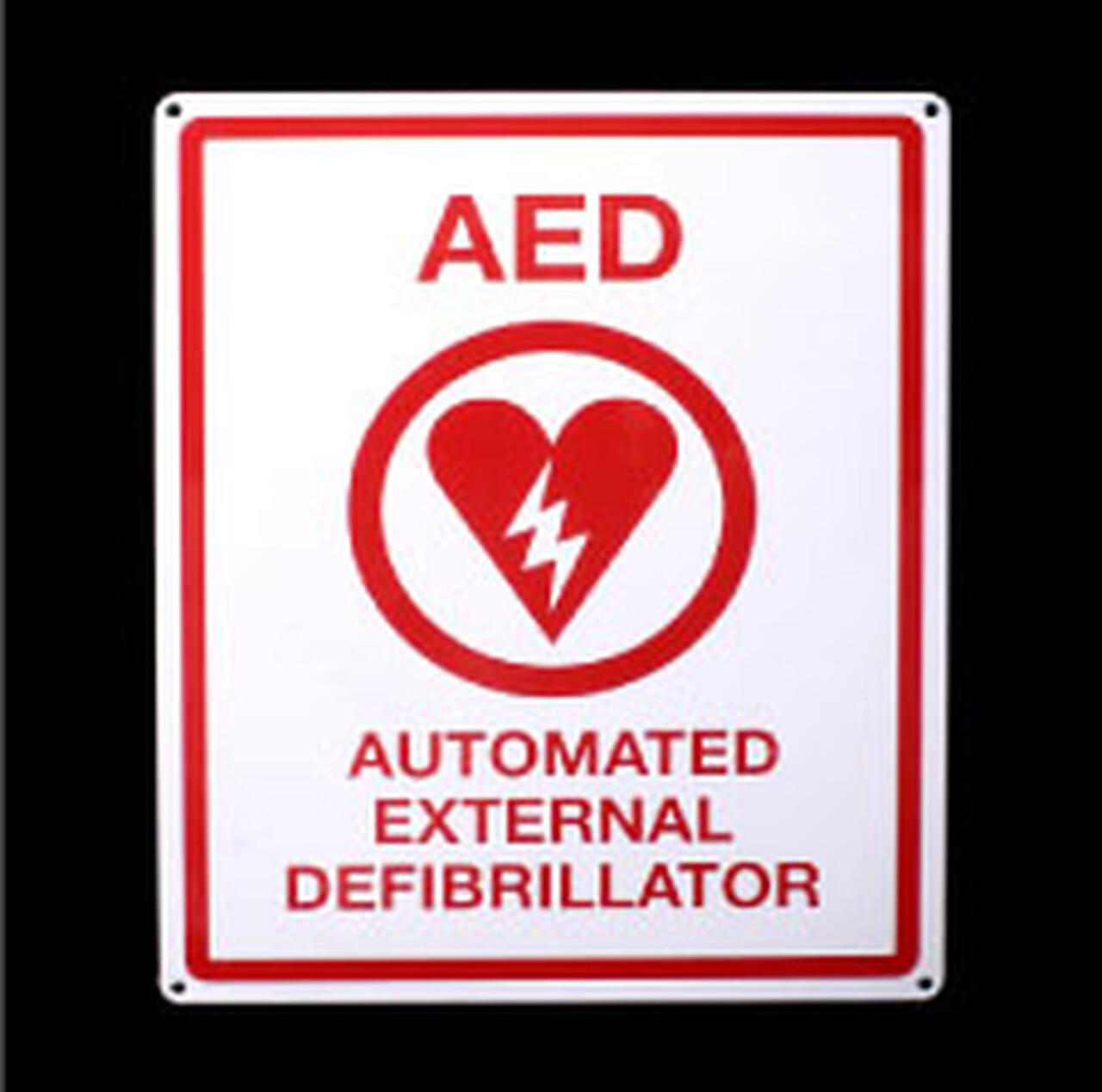 AED Locator Sign (flat)