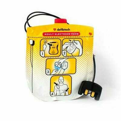 DEFIBTECH LIFELINE VIEW AED ADULT DEFIBRILLATION PADS