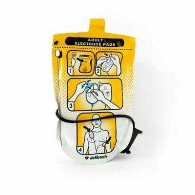 DEFIBTECH LIFELINE AED ADULT DEFIBRILLATION PADS