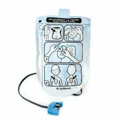 DEFIBTECH LIFELINE AED PEDIATRIC PADS