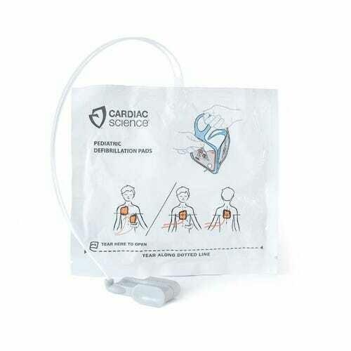 CARDIAC SCIENCE POWERHEART G5 PEDIATRIC DEFIBRILLATION ELECTRODE PADS
