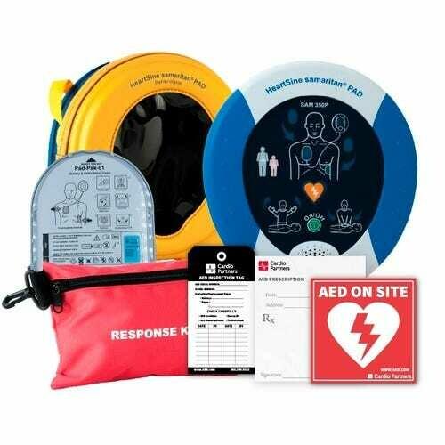 HEARTSINE SAMARITAN PAD 350 AED (RECERTIFIED)