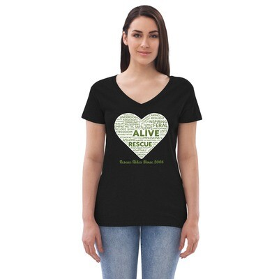 Inspiration ~ Women's recycled v-neck t-shirt