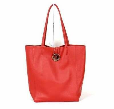 Läderväska Holly Red