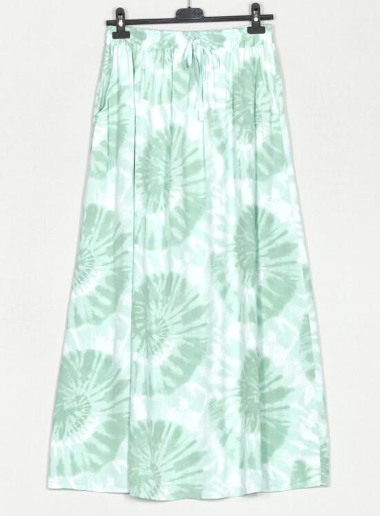 Kjol Batik Grön