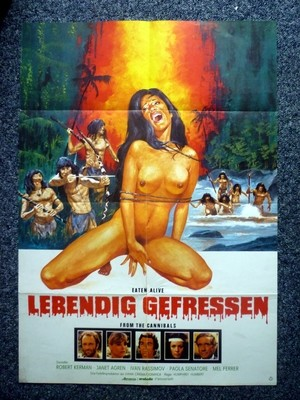 DOOMED TO DIE 1980 Original German A1 Movie Poster