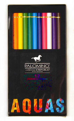 Palomino Aquarell Watercolor Pencils, 12 pencils