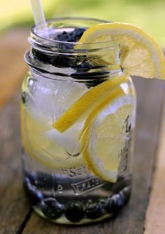 Lemon Berry Infused Water Detox BLEND (GAL)